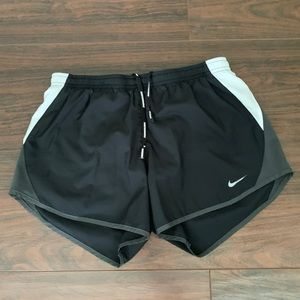 Nike Dri fit running shorts size small black